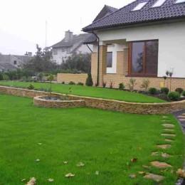 Wielopoziomowy ogród